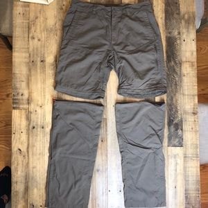 Men's North Face Convertible Hiking Pants